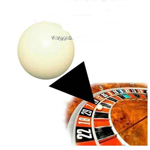 (Three) 3/8 Inch Casino Grade Roulette Ball (Pill)