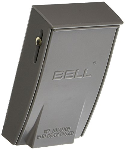 Hubbell-Bell 5028-0 1-Gang Vertical Gfci Weatherproof Cover