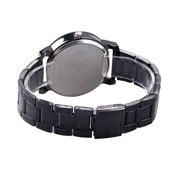 Shree Analog Black dial Couple Watch for Men and Women - SHREE-4869