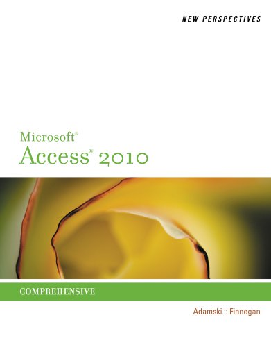 New Perspectives on Microsoft Access 2010, Comprehensive (New Perspectives Series: Individual Office Applications) Pdf