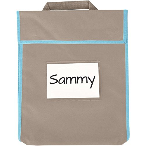 Store More Large Book Pouches - Shoreline Sand - Set Of 4