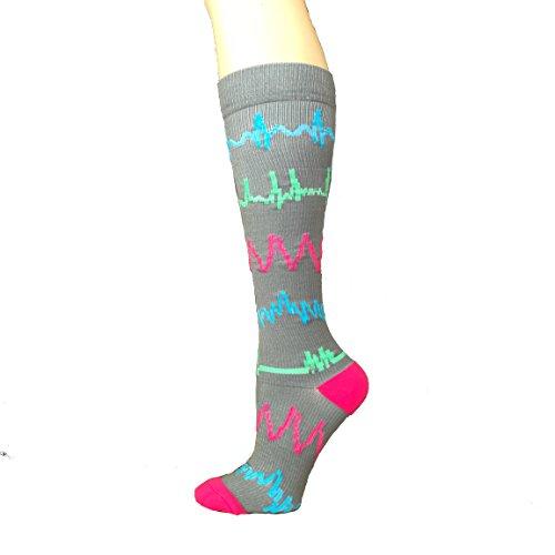 Cardiac Rhythm Compression Socks 20-30mmHg (Small/Medium)