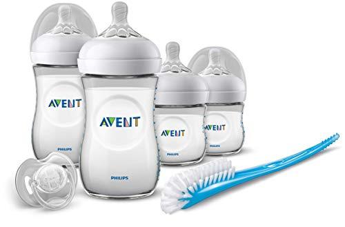 Philips Avent Natural Starterset voor Pasgeborenen SCD301/01 – Eenvoudig te combineren met borstvoeding – Brede en…
