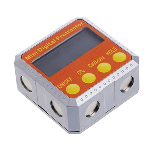 Hacloser 360° Digital Protractor Inclinometer Electronic Level Box Magnetic Angle Gauge by Hacloser (Image #4)