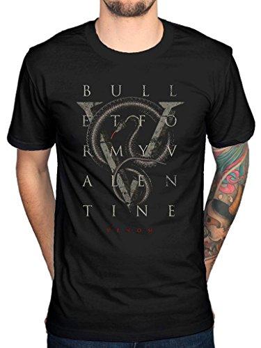 Official Bullet for My Valentime V is for Venom T-Shirt Black