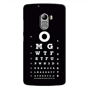 Cover It Up Eye Tests Hard Case For Lenovo K4 Note