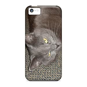 Awesome Missy 3 Flip Case With Fashion Design For Iphone 5c