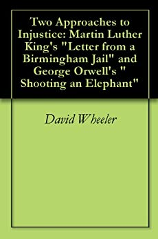 a review of shooting an elephant by george orwell Analysis of shooting an elephant introduction shooting an elephant is a short story written by george orwell the story depicts a young man who has to decide.