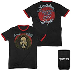 Ted Nugent Cat Scratch Fever Tour 1977 Ringer T-Shirt + Coolie (2XL)