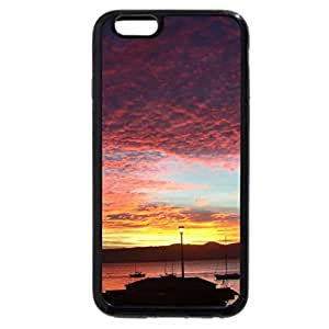 iPhone 6S / iPhone 6 Case (Black) Sandy Bay at Sunset