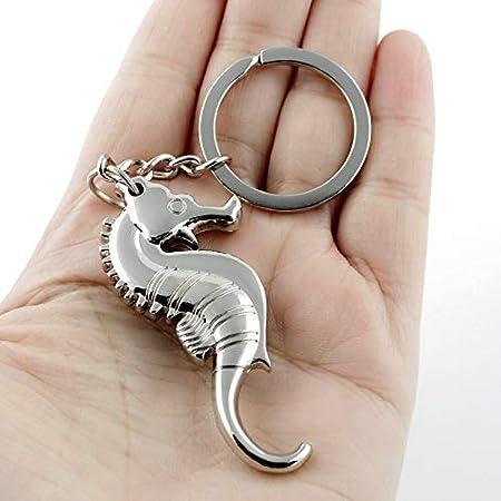 WANGIRL Sacacorchos 3D Seahorse Llavero Llavero Llavero mar Llavero Llavero abridor Llavero Llavero LOLDF1