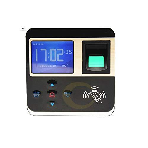 YEZIN 시간 시계 직원을 위해 작은 비즈니스 지문 출석기 생체 전자 자물쇠 RFID 카드 판독기 검사 시스템 OFFICE 펀치 시계