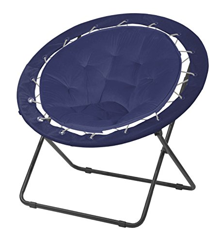 Urban Shop Bungee Saucer Chair, Navy (Lounge Urban)