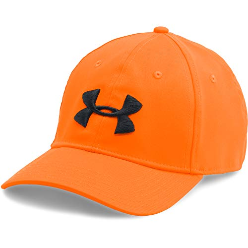 Under Armour Men's Camo Cap 2.0,, Blaze Orange /Black, One Size Fits All