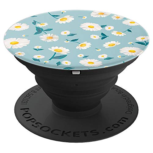 (Margarita Daisy Flower For lover daisies flowers Gift - PopSockets Grip and Stand for Phones and Tablets)