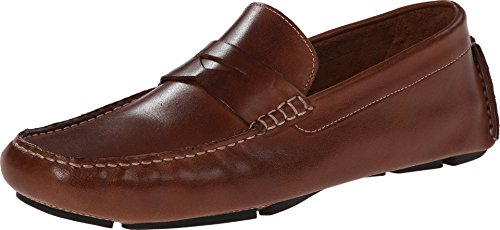 Mens Belt Haan Cole (Cole Haan Men's Howland Penny Loafer, Saddle Tan, 10.5 M US)