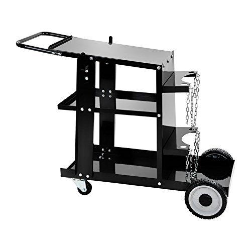 Stamos Germany - S-WECA-1 - Welding Cart - 75 cm Height - Gas Bottel Rack
