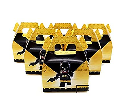 TA BEST Batman Cajas de recuerdos de fiesta - 24 ct ...
