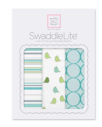 SwaddleDesigns SwaddleLite Jewel Tone Turquoise