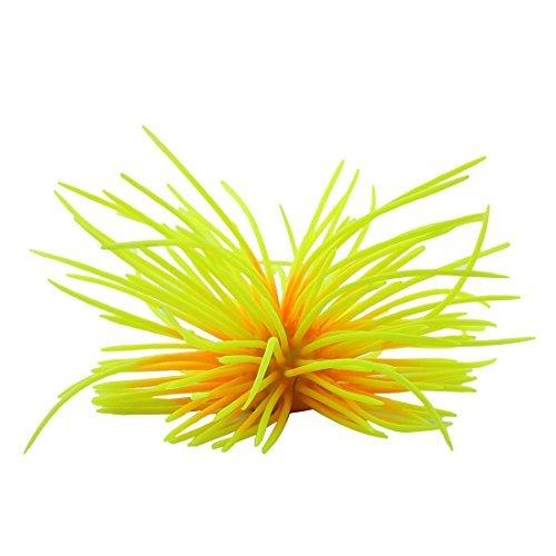 eDealMax Pesce Silicone serbatoio di mare artificiale Riccio Corallo pianta paesaggistica Ornament