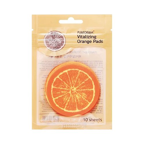 Purederm - Vitalizing Orange Pads for men and woman - For dry and sensitive Eye Area - Eye Mask - Facial (Funny Mens Homemade Halloween Costumes)