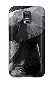 For Galaxy S5 Premium Tpu Case Cover Elephant Protective Case