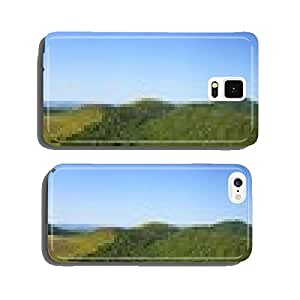 Puy de Dome panoramic view cell phone cover case Samsung S6