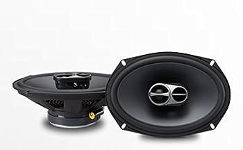 "Alpine Sps-610 6-12"" Coaxial 2-way Speakers & Sps-619 6x9"" Coaxial 2 Way Speakers Bundle 2"
