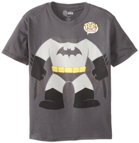 DC Comics Big Boys' Funko Batman M, Black, medium