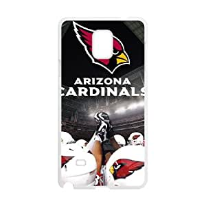 Arizona Cardinals Samsung Galaxy Note 4 Cell Phone Case White 218y3-137568