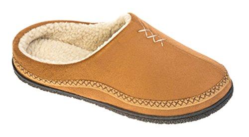 Coolers Zapatillas de casa para hombre, tallas 41 a 47,5 canela