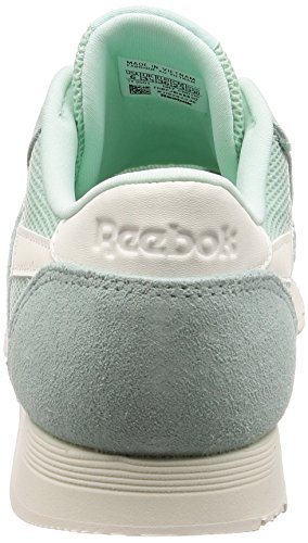Reebok Women's Classic Nylon Mesh M Gymnastics Shoes Green (Mist/Chalk 0) FKFx5J