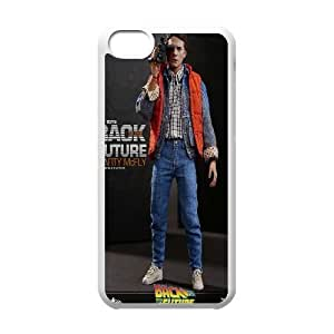 iPhone 5C Phone Case White Back-To-The-Future DTW8069041