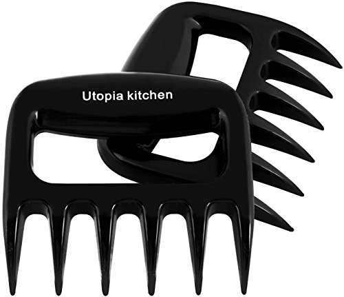 Pair of Meat Claws - Lift Tongs Pull Handler - Utopia Kitche