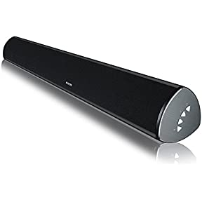 MEGACRA Deep Bass Surround Sound System 2.0 Channel 34 Inch Bluetooth Sound Bar