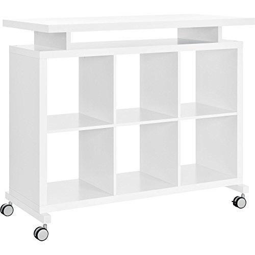 Ameriwood Home Lincoln Multipurpose Standing Desk, White