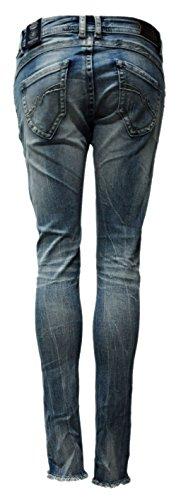 Jeans Bleu Blue Femme Jeans Skinny bleu Monkey qwxUz7O
