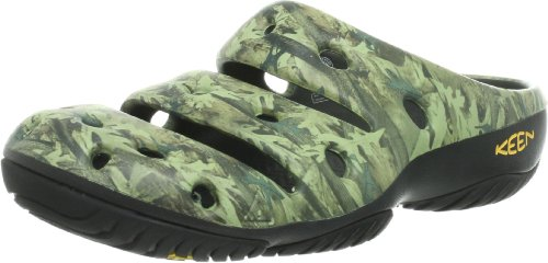 KEEN Men's yogui Arts Slipper, Graphite, 11 M US