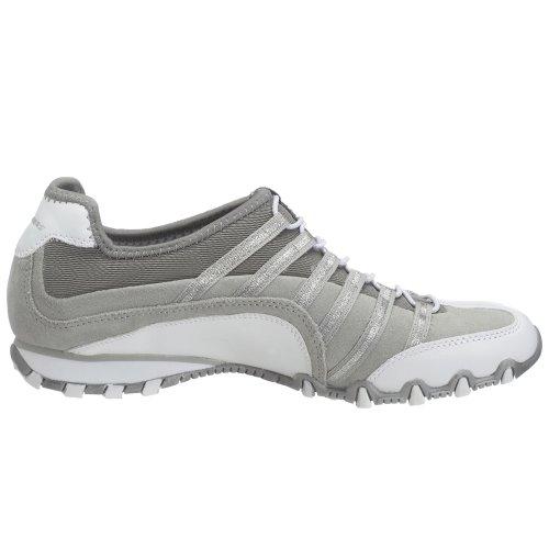 Skechers Usa Womens Massimizzare Sneaker Grigio / Bianco