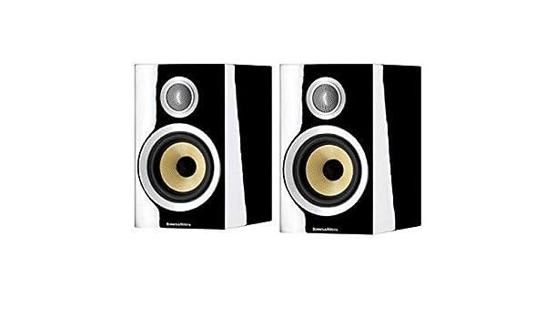 Bowers Wilkins Speakers >> Amazon Com Bowers Wilkins Cm1 S2 2 Way Bookshelf Speakers Gloss