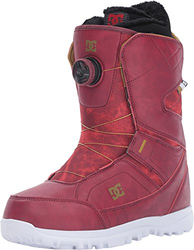 DC Shoes Womens Dc Shoes Search - Snowboard Boots - Women - Us 9 - Red Maroon Us 9 / Uk 7 / Eu 40.5