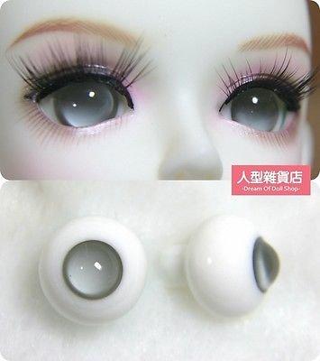 12mm 14mm 16mm For BJD DOD AOD MK OK RD Doll Dollfie Glass Eyes Outfit Grey 5