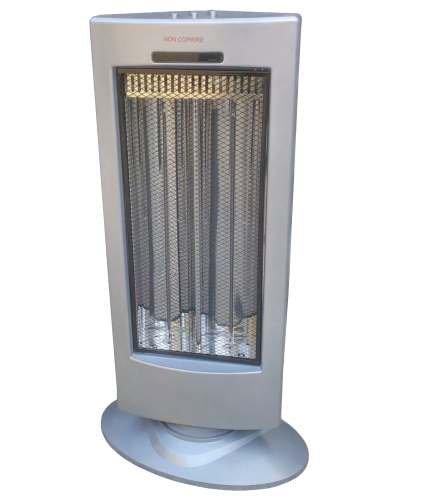 Stufa elettrica in fibra di carbonio 900W: Amazon.it: Fai da te