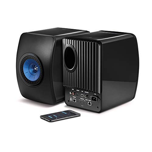 KEF LS50 Wireless Powered Music System (Black, Pair)