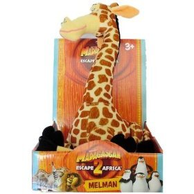 Madagascar Escape 2 Africa Melman Plush Giraffe]()