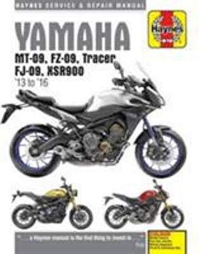 Yamaha MT 09 Tracer And XSR900  13   16   2013 2016  Haynes Service And Repair Manual