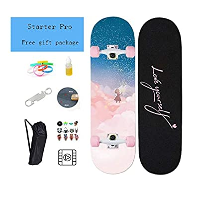 Aniseed Skateboards Cruiser Longboard Deck Skateboard Complete 31 Inch Fantasy Little Prince : Sports & Outdoors