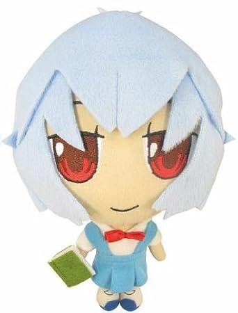 Amazon.com: Evangelion Petit EVA Rei Escuela Plush (Japón ...