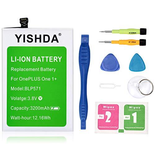 Oneplus One Battery, YISHDA 3200mAh BLP571