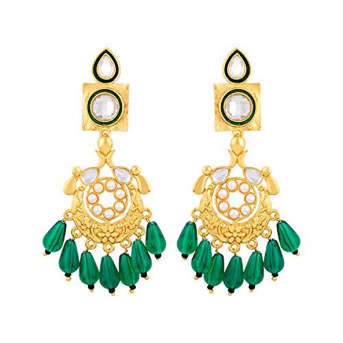 Voylla Noor-Jahan Chandbali Earrings For Women